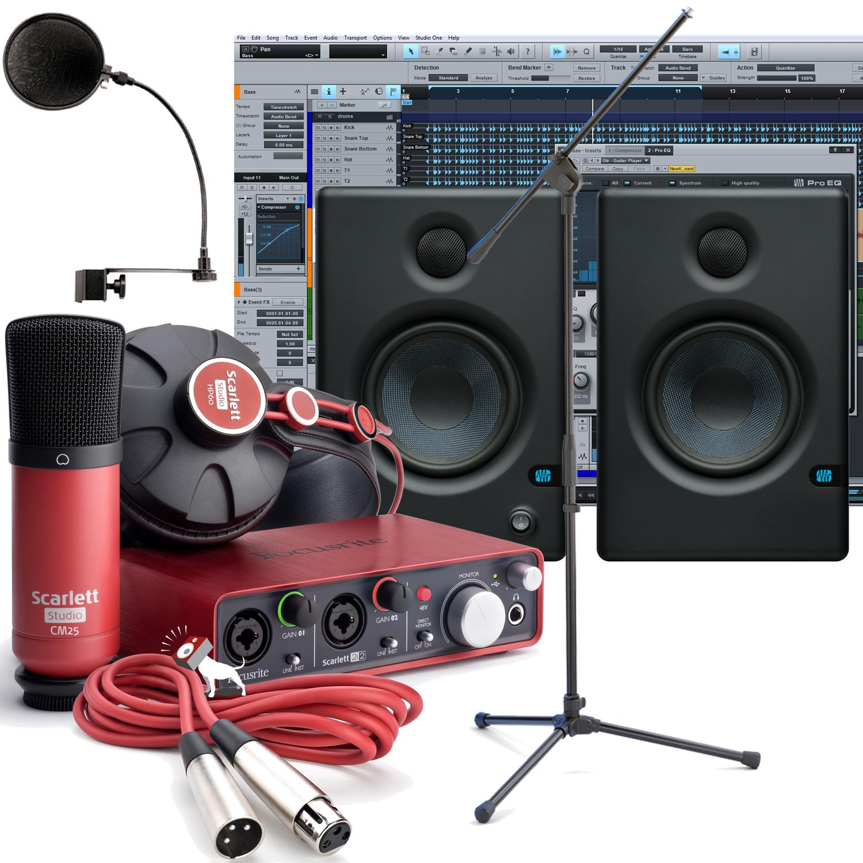 PA & Studio Equipment