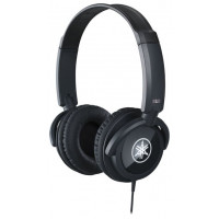 YAMAHA Headphones Black HPH100B